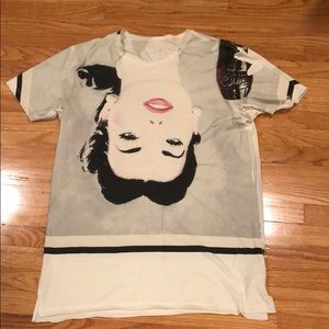 Dolce and Gabbana Coca- Cola Mens cream T-shirt
